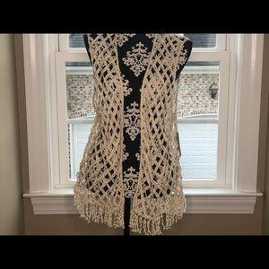 Crochet Vest Chico's